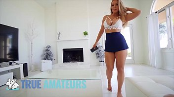 Hot blonde babe (Chelsea Vegas) bouncing her bubble - butt on bigdick - TrueAmateurs 8 min