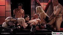 Mystic orgy with Jessica Drake, Casey Calvert and Luna Star in Fallen 2 Scene 1