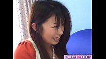 Mimi Kousaka goes nasty on a tasty dick in POV - More at hotajp com
