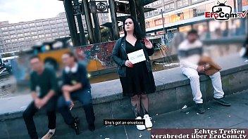 Notgeile fette deutsche teen wird beim EroCom Date öffentlich abgeschleppt und mit dickem arsch gefickt