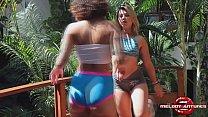 Sexo Entre Aluna E Personal Trainer | Melody Antunes | Nina Forbidden| COMPLETO XRED| Lésbicas Em Ação
