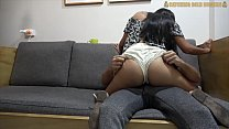 Super Hot Colombian Teen In Red Thongs Gets Picked Up And Fucked Hard
