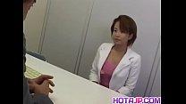 Tight Rio Kurusu endures big dick in her puffy bush - More at hotajp com