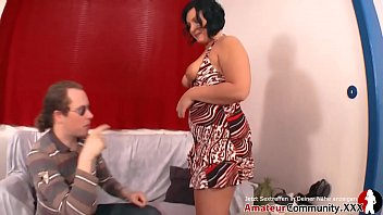 Chubby MILF picked up on street and fucked in ass