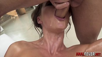 Anal european throating and sucking