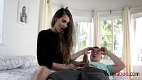 Nerd Sister Takes Care Of Brother's Blue Balls- Sofie Reyez