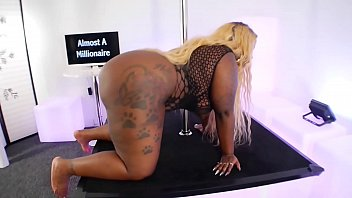 Almost A Milli Dance Teaser - Thick Black BBW With Big Tits and a Big Booty