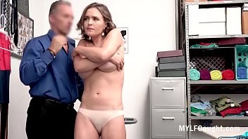 MILF Anal And Pussy Fucked By Security- Krissy Lynn