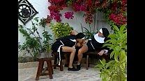 Young nuns having fun...anal