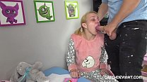 Blonde in b. clothes gets rammed