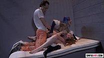 Katy Kiss and Anna Bell Peaks FFM Threesome - Suicide Squad XXX An Axel Braun Parody Scene 3