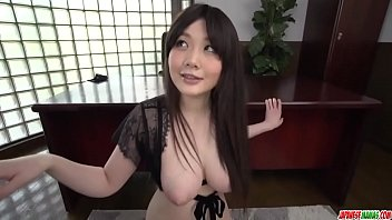 Rie Tachikawa gives head while half naked and wet - More at Japanesemamas com