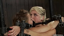 Lesbians fastened on Sybians