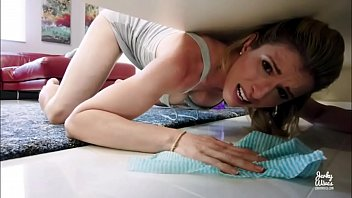Hot Stepmother Fucked in The ass While Stuck Under Bed - Cory Chase