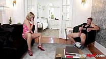 Lonely MILF Takes Advantage Of Handyman- Amber Chase