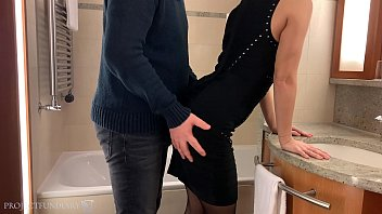 tinder date slut, hotel room fuck in pantyhose and high heels