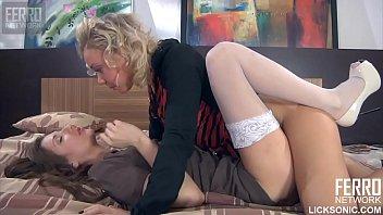 Madeleine licks her little cousin Sandy hole so hard 13 min
