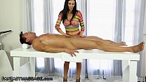 FantasyMassage Smokin' Hot Masseuse Jasmine Jae Loves To Take Care Of Her Client