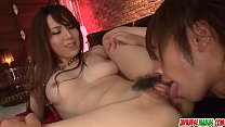 Yui Hatano leaves horny man to play with her clit - More at Japanesemamas com