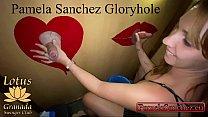 Pamela sanchez my first time sucking big cocks at amateur gloryhole swinger club. 1/3