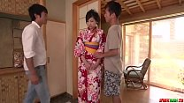 Yuna Shiratori feels generous with these big dongs - More at Japanesemamas com