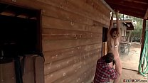 Ranchers teen bound anal fucked