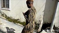 Diamond raw fucks African queen Joy as she visits her boyfriend