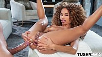 TUSHY Diva Cecilia has her manager satisfy her anal desires
