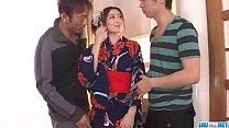Perfect threesome scenes with Kaori Maeda - More at javhd.net