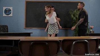 Professors dp gangbang schoolgirl