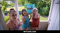Three Hot Petite Teen Best Friends Kyler Quinn, Sia Lust And Nola Exico Fucked By Black Neighbor To Sway His Vote