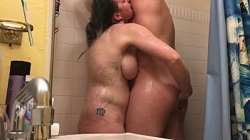 Anal Hot Milf Wife with Shower Rimjob - BunnieAndTheDude