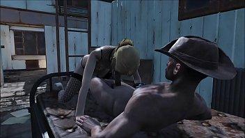 Fallout 4 Katsu and Preston Garvey