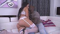 Horny Hot Latina Bombshell Katrina Moreno Lets BBC Joss Lescaff Uses Her Pussy & Tits