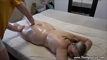 Tired Chubby Girl Gets Massage After a Hard Day. -> www.BootyassGirl.com <-