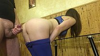 Fucks with a Lover and Talks with a Husband on the Phone. Russian Amateur with Dialogue