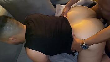 Black dude fucks a big fat ass