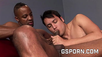 Black an white gay porn with Dru Blake and Orion Cross
