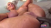 Big Tit MILF Alura Interracial Anal Creampie