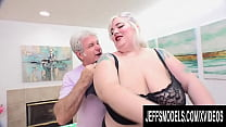 Blonde Plumper Babe Genevieve LaFleur Needs Some Help Relieving Her Tension