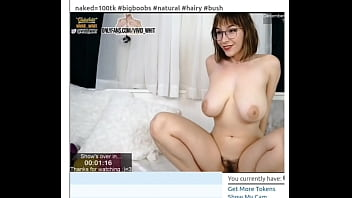Hairy big tits sneezing and playing around butt naked