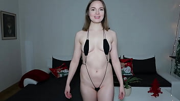 Sling Bikini Tryon Haul From Amazon Celebrating