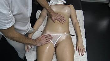 Massage Hidden Camera in Slow Motion