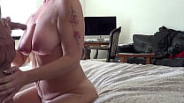Friend is out of town, Wife stops by and I cum and Piss on Her 69 sec
