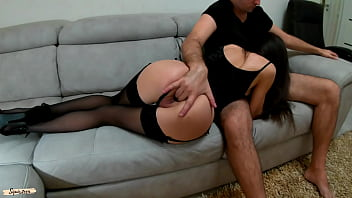 Young slut in Stockings for daddy.Make me squirt hard please - Squir7een