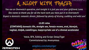 [OVERWATCH] A Night With Tracer  Erotic Audio Play by Oolay-Tiger 11 min