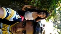 de paseo con mi cuñada en la montaña parte 2