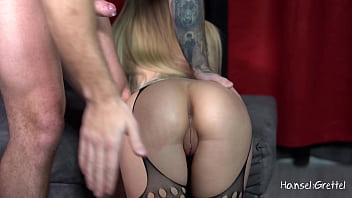 Sloppy Deepthroat & Facefuck Sexy Big Boobs Blonde