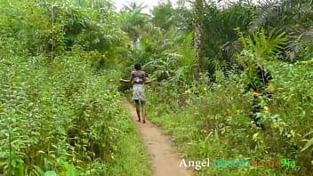 Outdoor masquerade fuck Angel queenshome9ja,  African tradition bush sex hardcore foursome in (Bush sex complete)