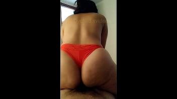Young latina with big ass gets intense orgasm 2 min